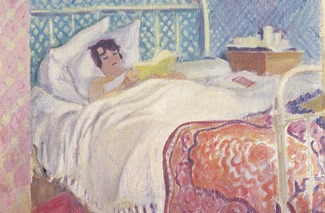 le lit 1923 MNAM paris